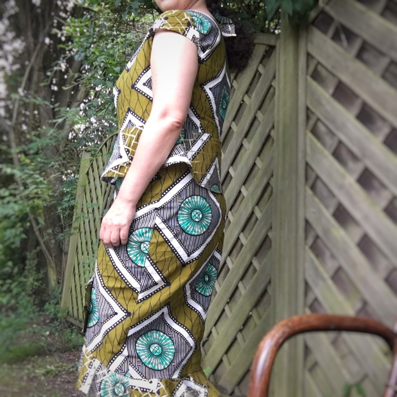 African Dress - Afrikanisches Kleid