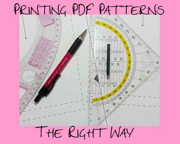 Print PDF Patterns